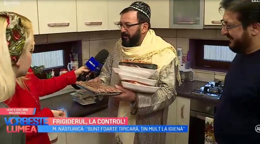 VIDEO Frigiderul, la control alături de familia Năsturică
