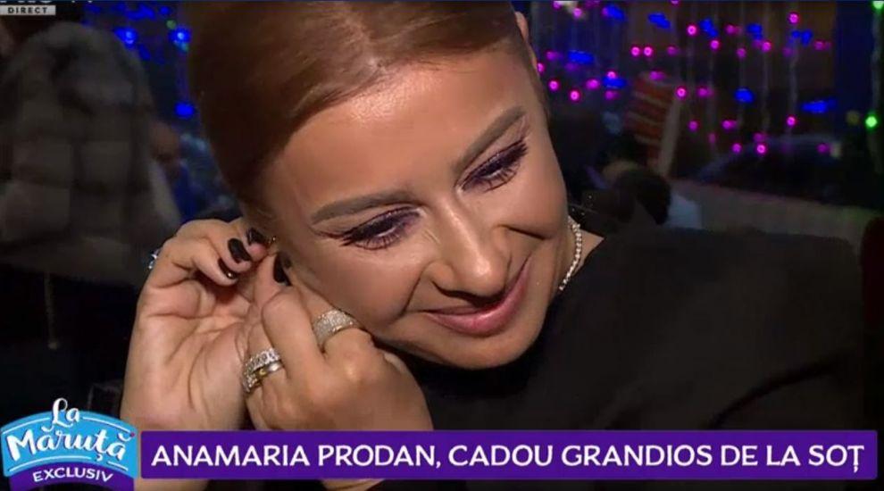 VIDEO Anamaria Prodan a primit un cadou grandios din partea soțului