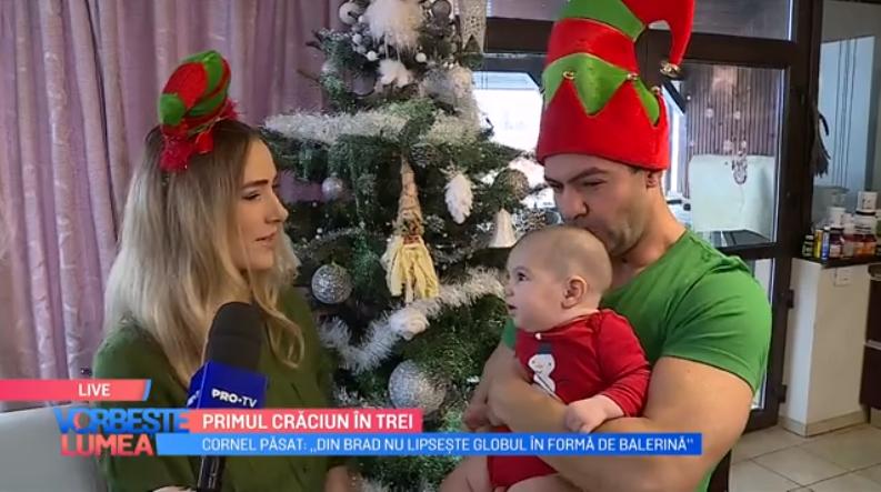 VIDEO Cum arată Crăciunul în familia Păsat