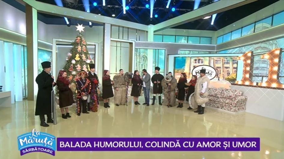 """VIDEO """"Balada Humorului"""" ne-a cântat și încântat cu colinde de Crăciun"""