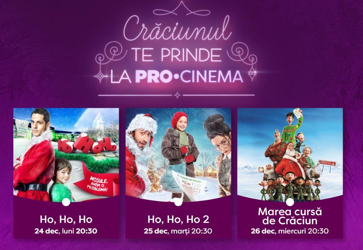 Crăciunul te prinde la PRO CINEMA! Ce filme de colecție puteți viziona în noaptea de Ajun