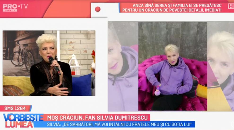 VIDEO Moș Crăciun, fan Silvia Dumitrescu
