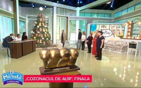 VIDEO Finala concursului  Cozonacul de aur . Cine a câștigat marele premiu