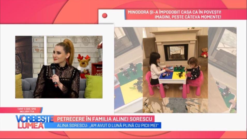 """VIDEO Alina Sorescu: """"În 2019 vreau să lansez un album cu picii mei"""""""