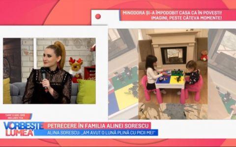 VIDEO Alina Sorescu:  În 2019 vreau să lansez un album cu picii mei