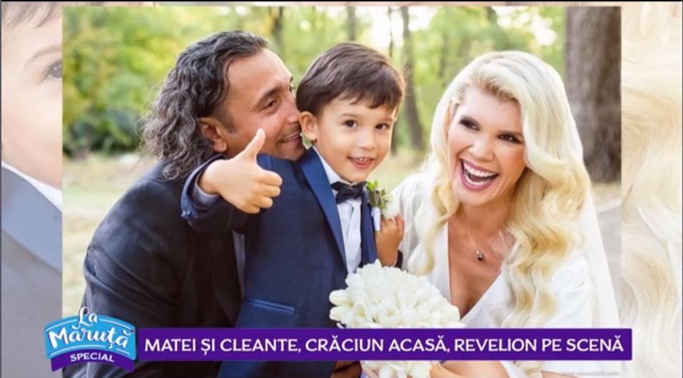 VIDEO Diana Matei și Marian Cleante au petrecut Crăciunul acasă, alături de familie