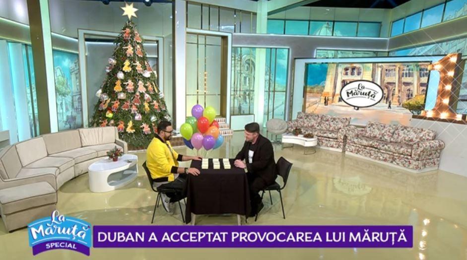 VIDEO Andrei Duban a acceptat provocarea lui Măruță
