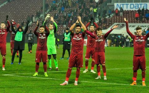 VIDEO Este cel mai inedit cuplu din fotbalul românesc. Poveste de iubire cu portarul de la CFR Cluj