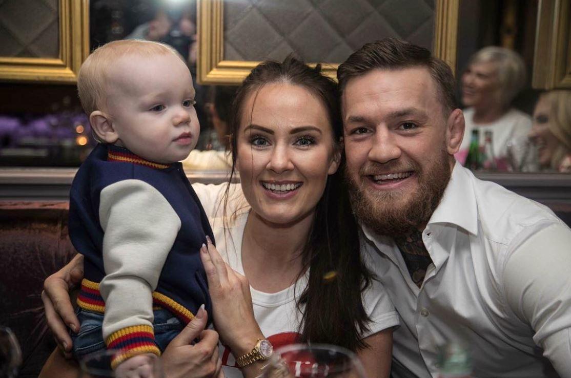 Luptătorul Conor McGregor, tată pentru a doua oară. Iubita lui a născut în primele zile din 2019