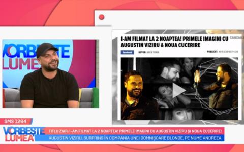 VIDEO Augustin Viziru comentează zvonurile din presă. Ce critici i-au fost aduse actorului