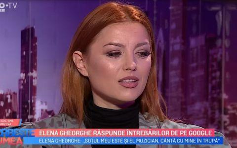 VIDEO Elena Gheorghe răspunde întrebarilor de pe Google