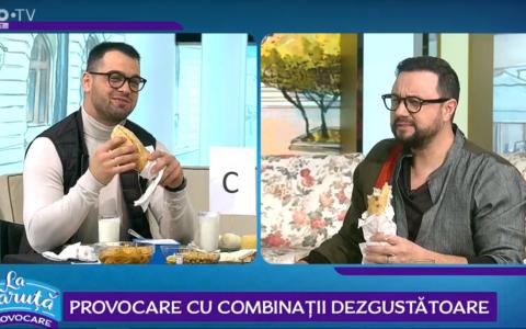 VIDEO George Piștereanu, provocat de Cătălin Măruță