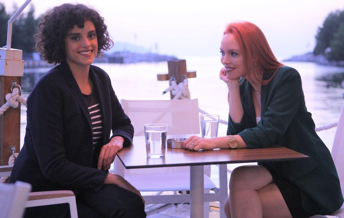 Olimpia Melinte și Diana Sar, în superproducția  VLAD :  La filmări, suntem ca două surori