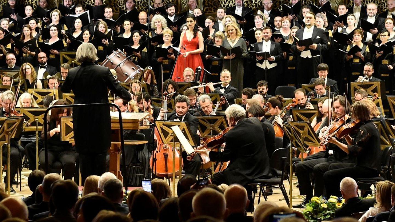 Marea unire muzicală. Cum a fost creată Orchestra Uniunii Europene, pentru evenimentul special din Capitală