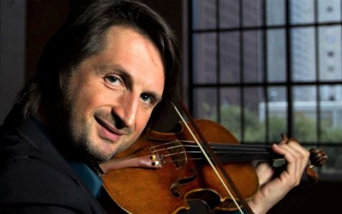 Edvin Marton vine la București să cânte rock simfonic