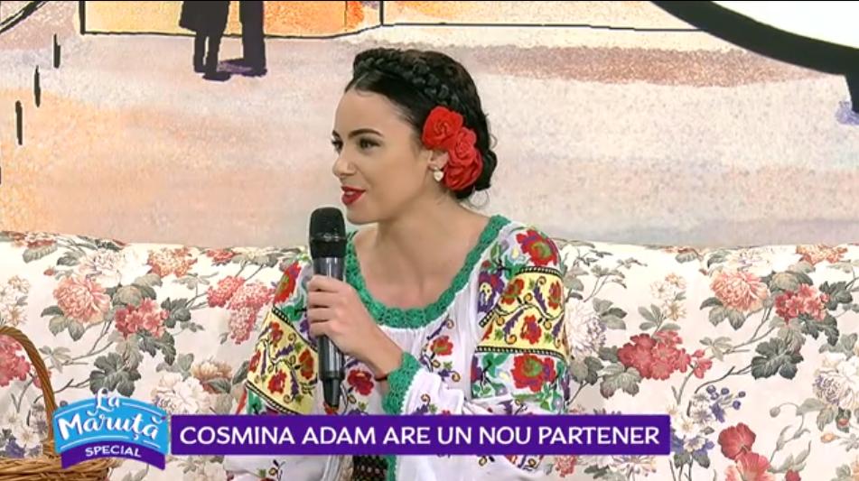 VIDEO Cosmina Adam are un nou partener
