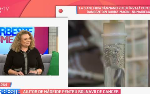 VIDEO Ajutor de nădejde pentru bolnavii de cancer