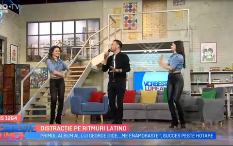 VIDEO Distracție pe ritmuri latino alături de George Dice