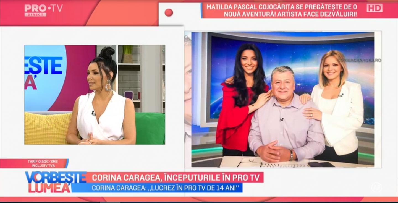 VIDEO Corina Caragea, începuturile în PROTV