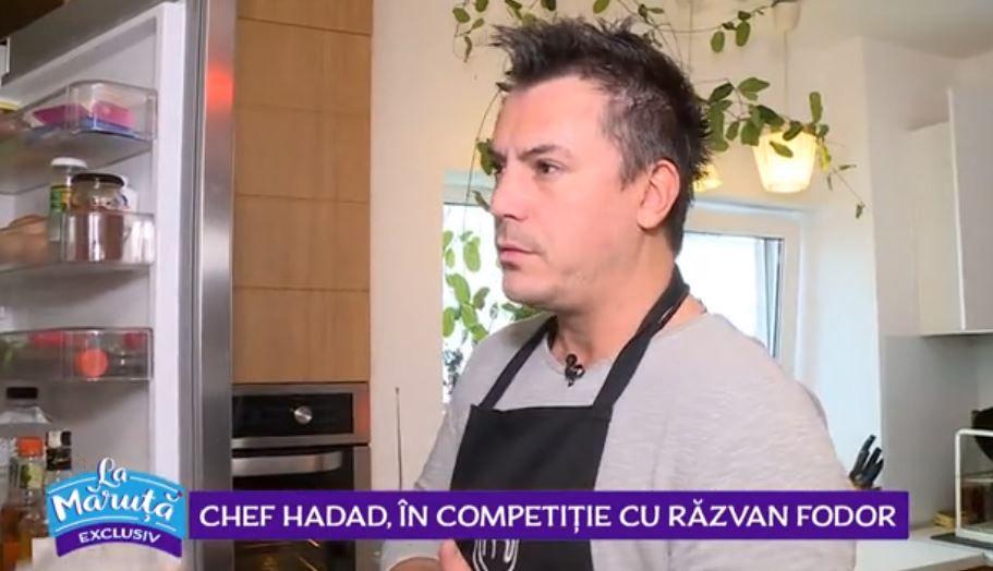 VIDEO Chef Hadad, în competiție cu Răzvan Fodor. Ce rețetă delicioasă a reușit să gătească împreună cu cei doi