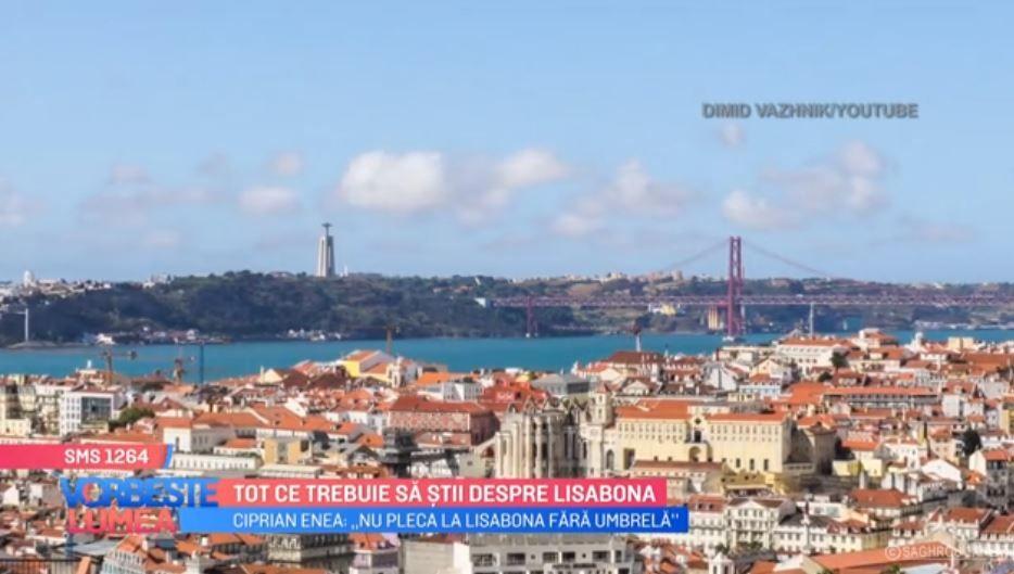 VIDEO Lisabona, destinația ideală pentru această perioadă
