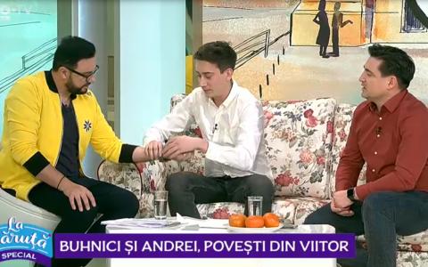 VIDEO Buhnici și Andrei, povești din viitor.  Oamenii trebuie să înceapă să se obișnuiască cu asta!