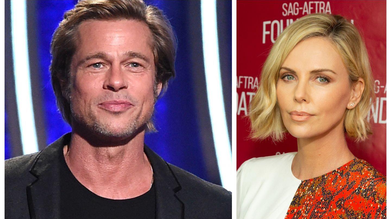 Brad Pitt și Charlize Theron au filmat împreună acum șase luni. Imaginile cu cei doi au apărut acum