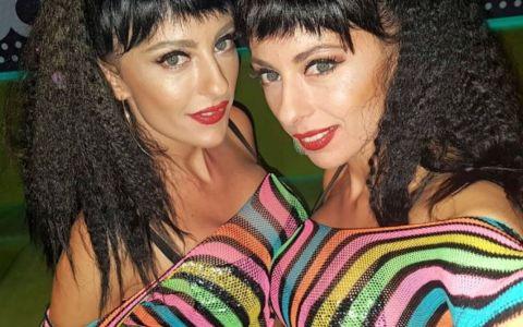 Cheeky Girls s-au întors. Surorile gemene Monica și Gabriela au concert de Sfântul Valentin