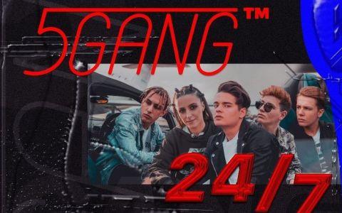 De 1 iunie, 5GANG susține cel mai mare concert de până acum: 24/7