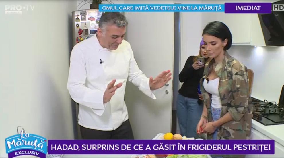 VIDEO Hadad, surprins de ce a găsit în frigiderul Pestriței