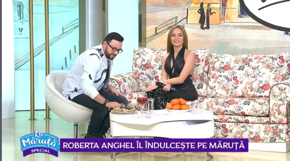 VIDEO Roberta Anghel îl îndulcește pe Măruță
