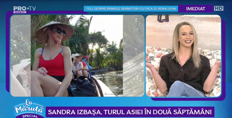 VIDEO Sandra Izbașa, provocată de Măruță. Ce a trebuit să facă gimnasta?