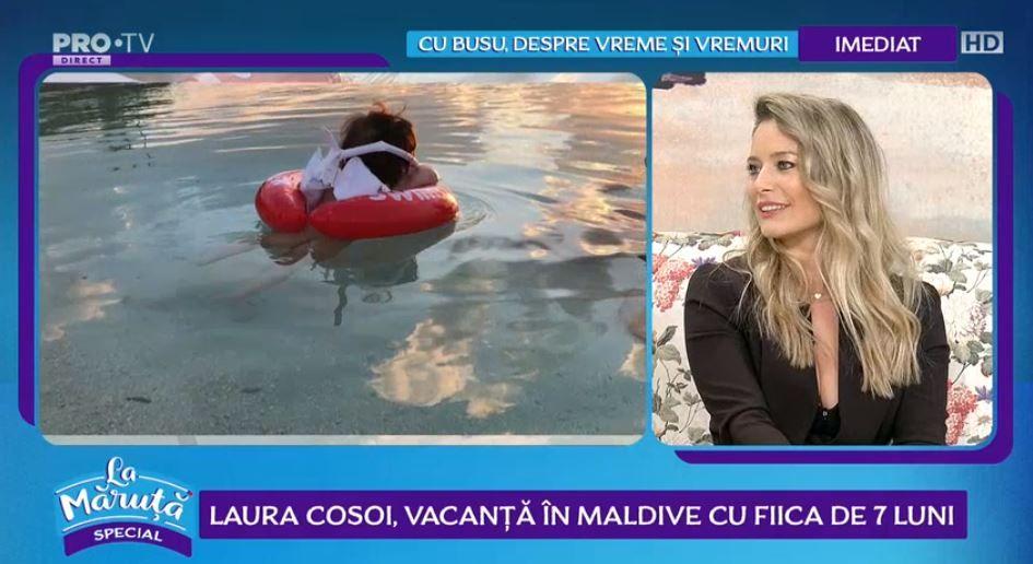 VIDEO Laura Cosoi, vacanță de vis în Maldive