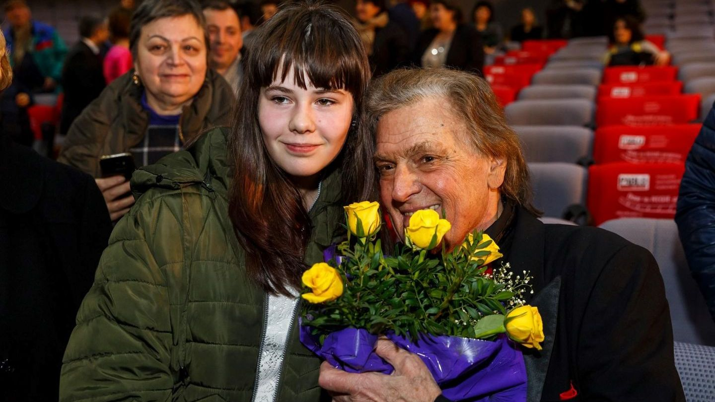 Florin Piersic, sărbătorit de 1.000 de oameni la Cluj: bdquo;Mă simt ca la 22 de ani