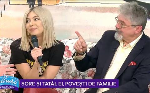 VIDEO Sore și tatăl ei, povești de familie