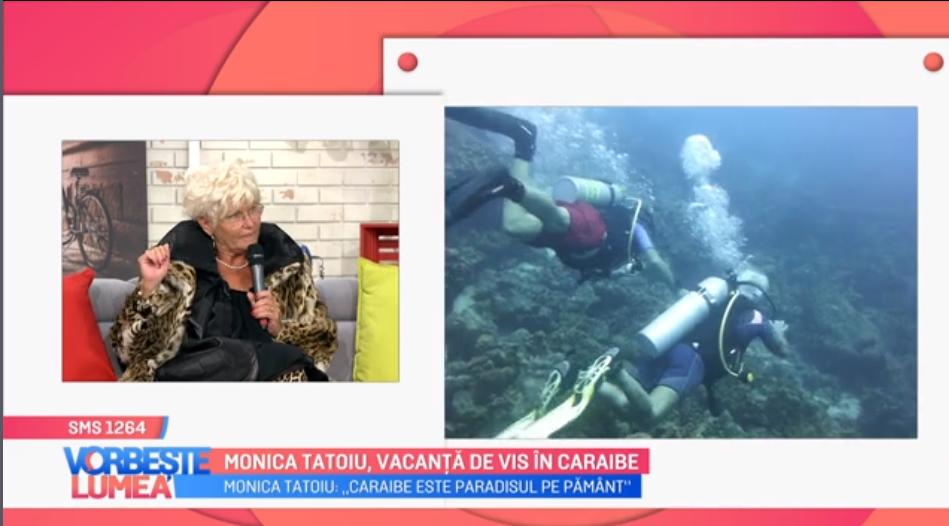 VIDEO Monica Tatoiu, vacanță de vis în Caraibe