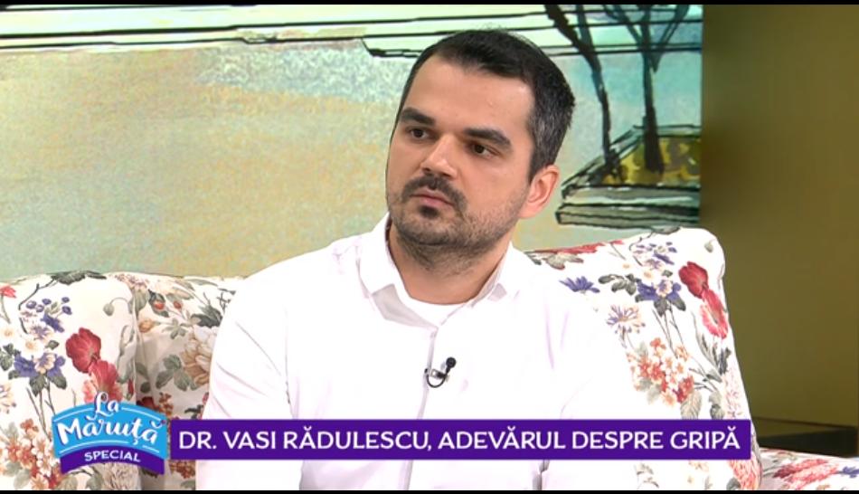 VIDEO Dr. Vasi Rădulescu, adevărul despre gripă. Cum deosebim gripa de răceală?