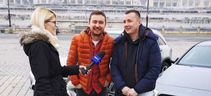 VIDEO Sfaturi despre condus de la Costin Giurgea și Tudor Bratu