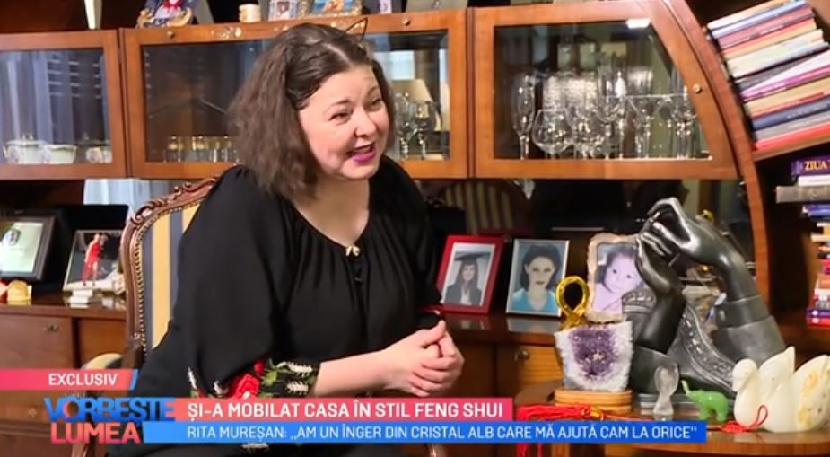 """VIDEO Rita Mureșan și-a mobilat casa în stil Feng Shui: """"Obiectele în formă de lebădă aduc iubirea"""""""