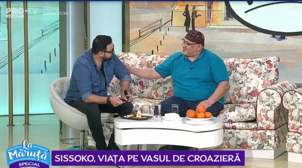 VIDEO Sissoko, viața pe vasul de croazieră