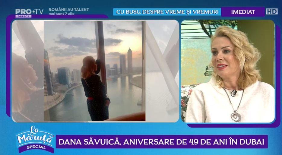 VIDEO Dana Săvuică, aniversare de 49 de ani în Dubai