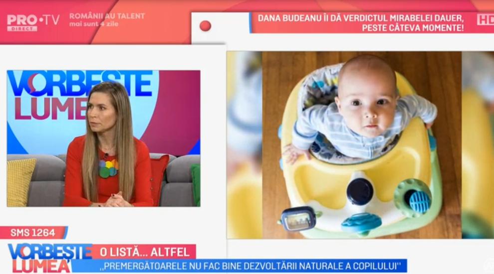 VIDEO Ioana Macoveiciuc, alias Prințesa Urbană, ne spune despre obiectele care nu sunt recomandate pentru bebeluși