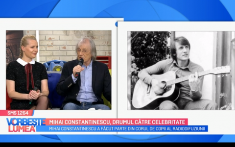 VIDEO Mihai Constantinescu, drumul către celebritate