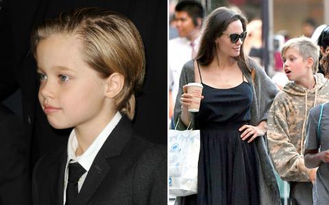 Fiica Angelinei Jolie și a lui Brad Pitt ar urma un tratament de schimbare de sex
