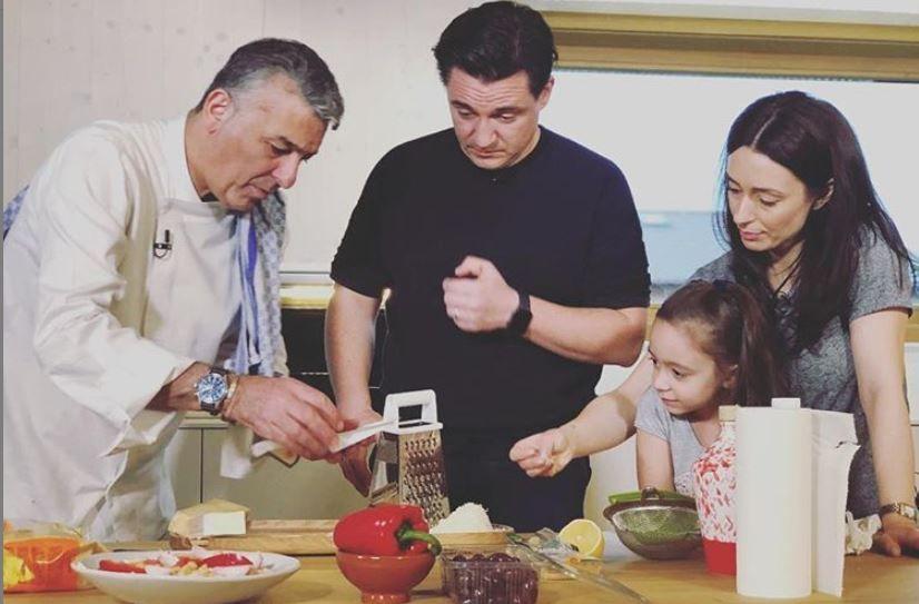 VIDEO Chef Hadad gatește în bucătăria lui George Buhnici