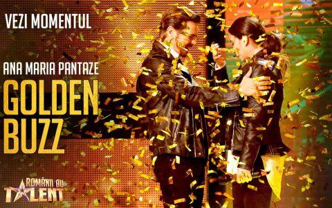 Primul GOLDEN BUZZ de la Românii au talent, sezonul 9. Croitoreasa care l-a derutat complet pe Mihai Petre