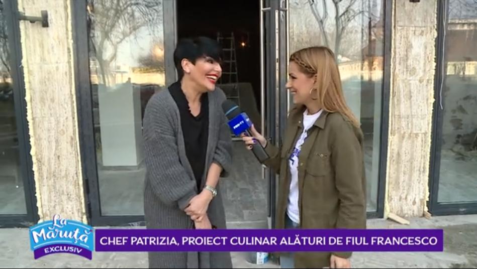 VIDEO Chef Patrizia, proiect culinar alături de fiul Francesco