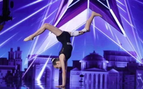 Emma Neagu, gimnasta care a emoționat publicul până la lacrimi.  Mă simt bine, dar rezultatele arată altceva