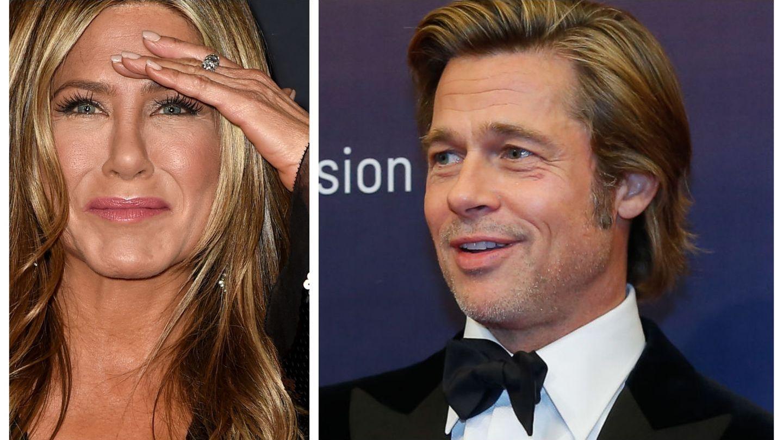 Brad Pitt, la petrecerea de 50 de ani a lui Jennifer Aniston. Cum au petrecut cele două vedete