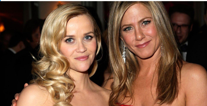 Reese Witherspoon a căzut pe scări, după ce a petrecut toată noaptea la petrecerea lui Jennifer Aniston